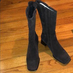 La Canadienne Waterproof Suede Knee High Boots
